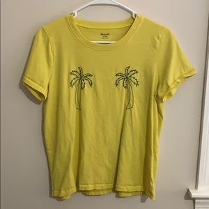 Madewell Palm Tree Boxy Tee